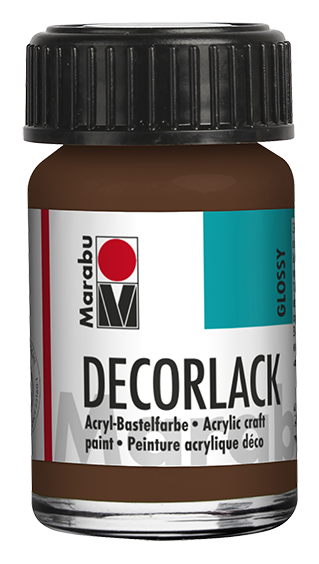 Marabu Decorlack 15 ml Mittelbraun
