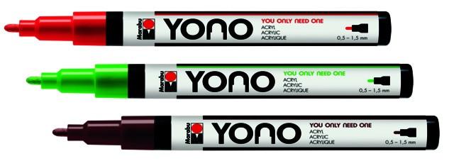 Marabu YONO Marker 1,5-3mm