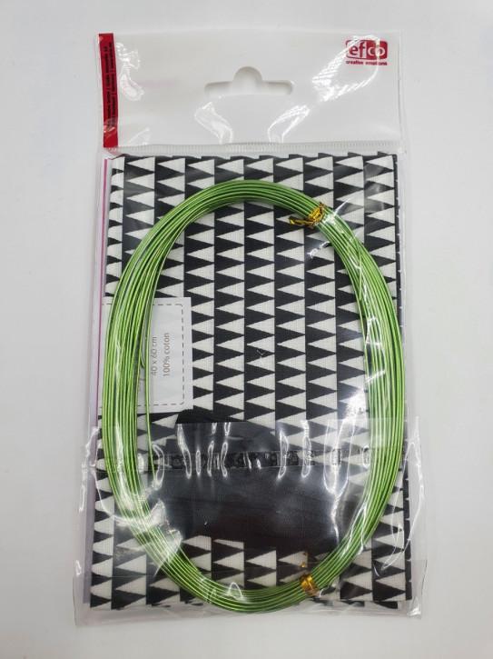 Masken Set DIY für 2 Mund-Nase Masken