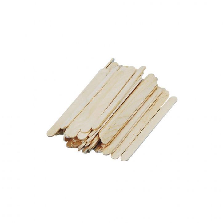 Mini-Bastelhölzer, 5,5 cm, natur SB-Btl. 300 Stück