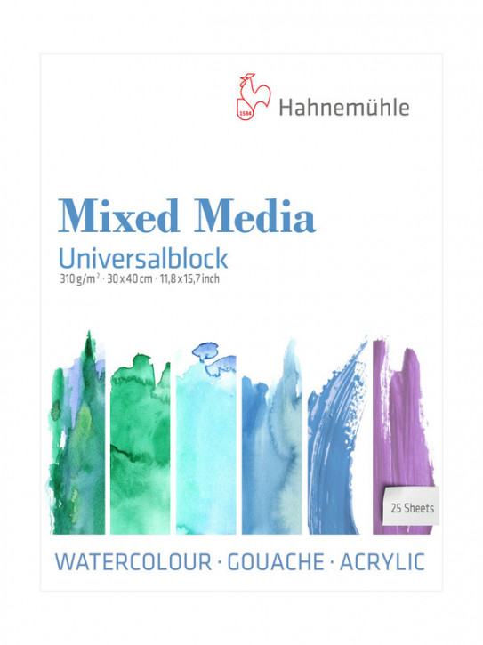 Mixed Media Universalblock 30x40 cm 310g m²