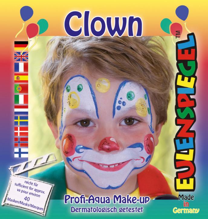 Motiv Schmink-Set Clown