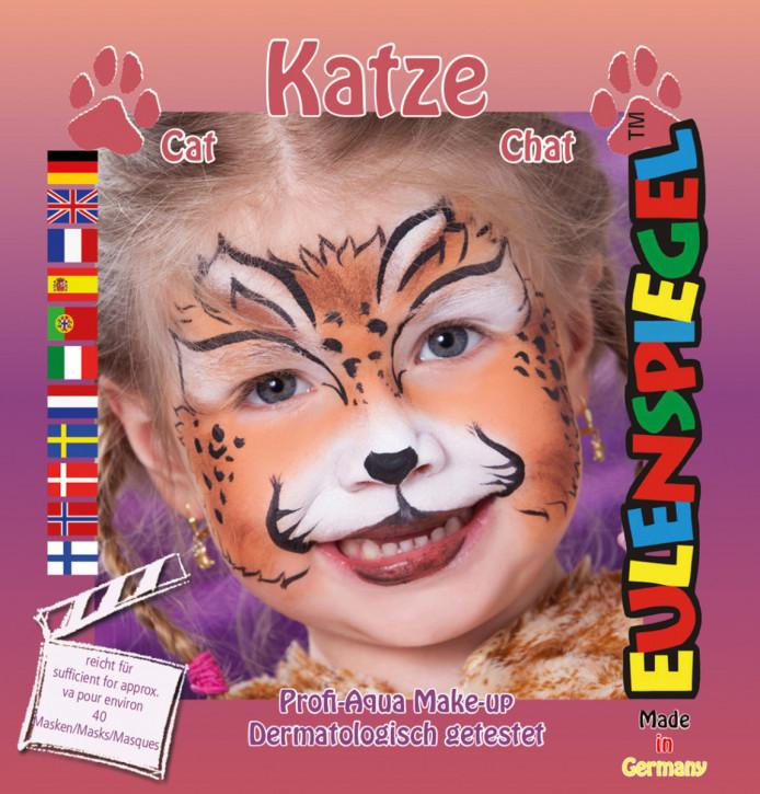 Motiv-Schmink-Set Katze