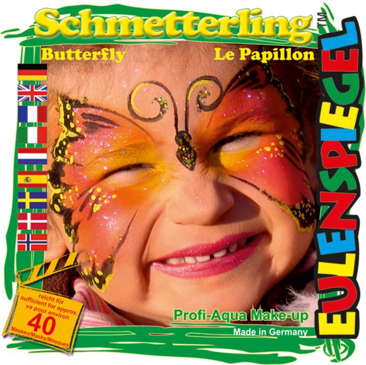 Motiv-Schmink-Set Schmetterling