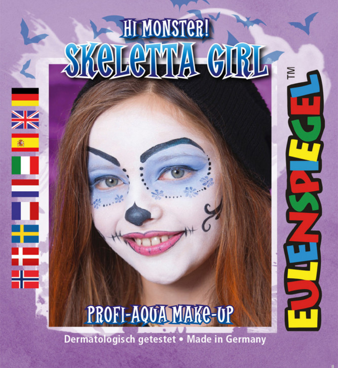 Motiv-Schmink-Set Skeletta Girl
