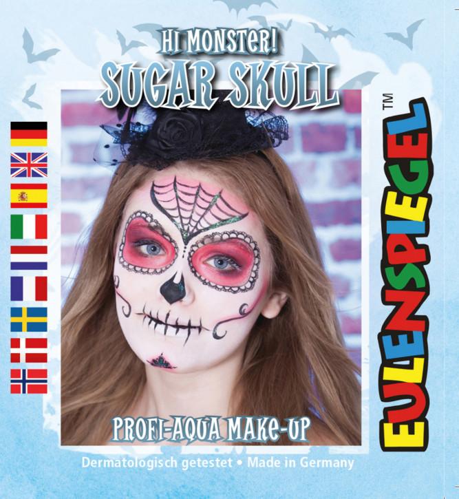 Motiv-Schmink-Set Sugar Skull