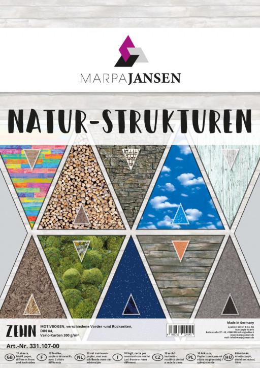 Motivbogen-Sortiment, Natur-Strukturen