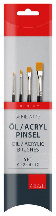 Öl / Acryl Pinsel Serie A145 AMI
