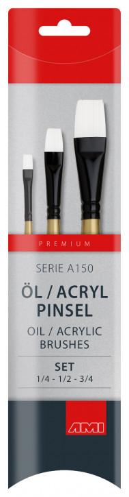 Öl / Acryl Pinsel Serie A150 AMI