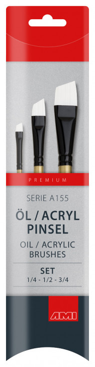 Öl / Acryl Pinsel Serie A155 AMI