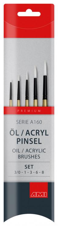 Öl / Acryl Pinsel Serie A160 AMI