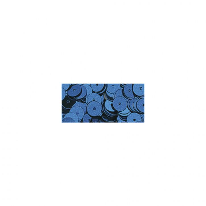 Pailletten glatt 6 mm Blau