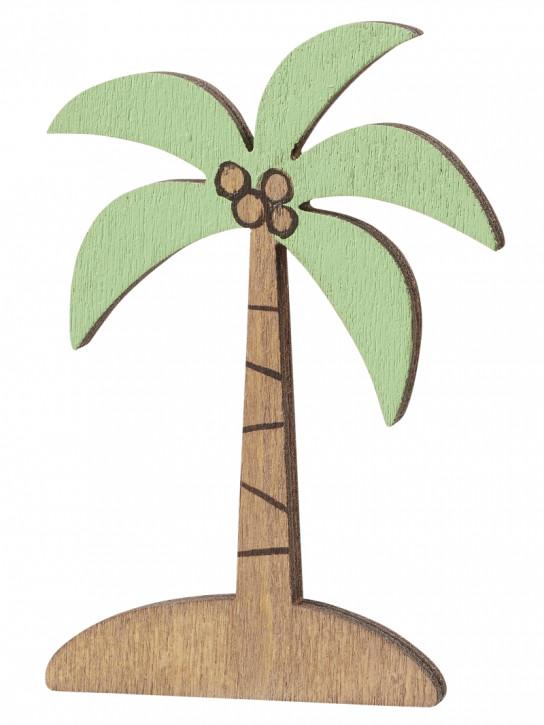 Palme aus Holz ca. 6,5 cm