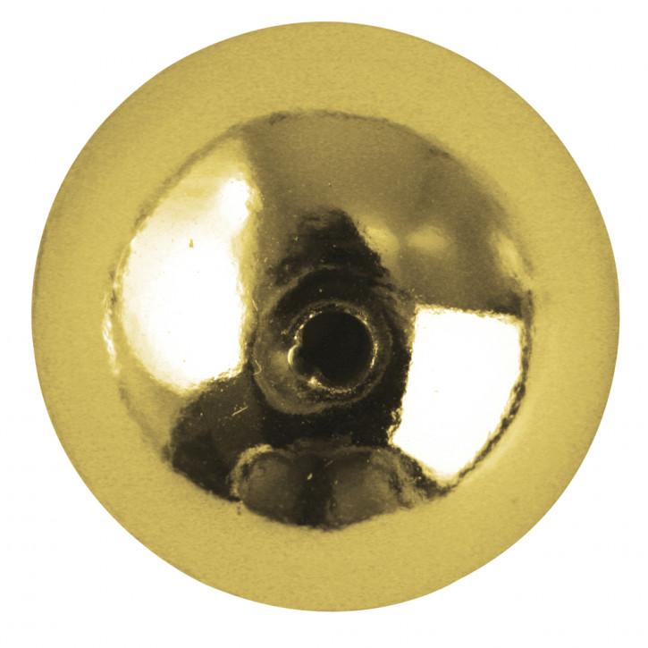 Plastik-Rundperlen, 6 mm Dose 65 Stück