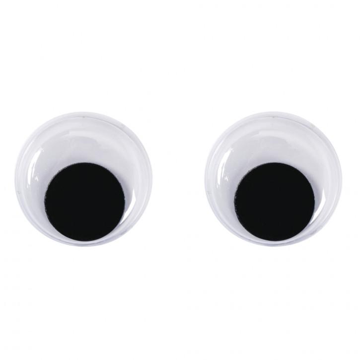 Plastik Wackelaugen 15 mm