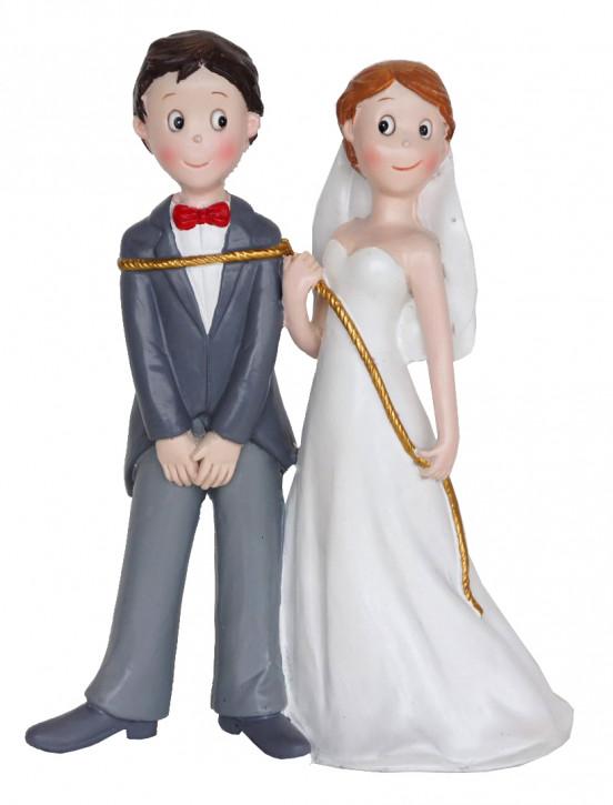 Polyresinfigur Hochzeitspaar Lasso groß 15 cm