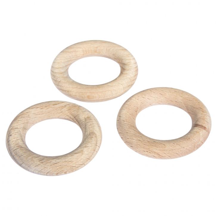 Rohholzring Buche 3,5cm 1Stück