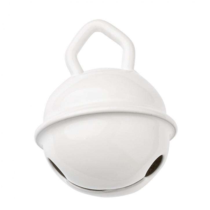 Schnulli-Glöckchen / Schelle, 15 mm, Btl 2 Stück, Weiß