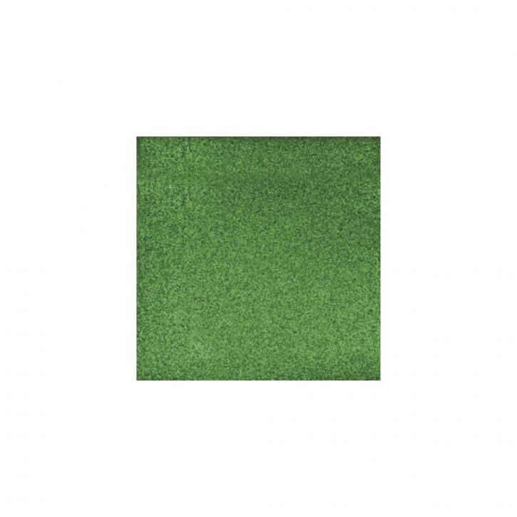 Scrapbooking-Papier: Glitter, immergrün 30,5x30,5cm, 200 g/m2