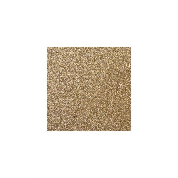 Scrapbooking-Papier: Glitter, kaschmir gold 30,5x30,5cm, 200 g/m2