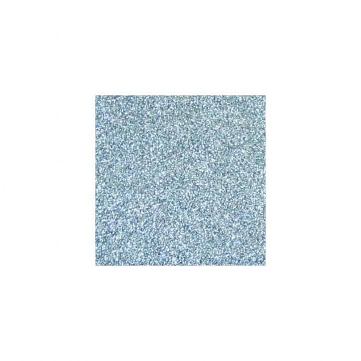 Scrapbooking-Papier: Glitter, taubenblau 30,5x30,5cm, 200 g/m2