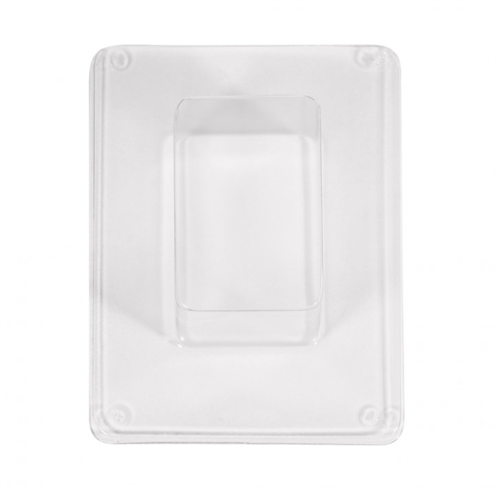 Seifengießform: Block 8x5,5x4cm, 170ml