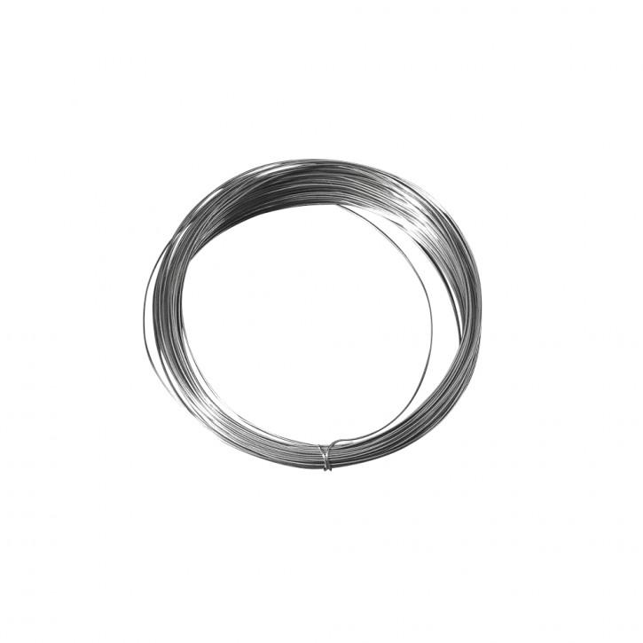 Silberdraht mit Kupferkern 0,80 mm ø, SB-Btl. +6 m