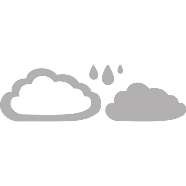 Stanzsch.Set(deep edge):Clouds&Drops, 0,5-9,1x0,8-4,8cm, SB-Btl 4Stück