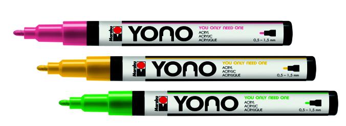 Marabu YONO Marker 0,5-1,5mm