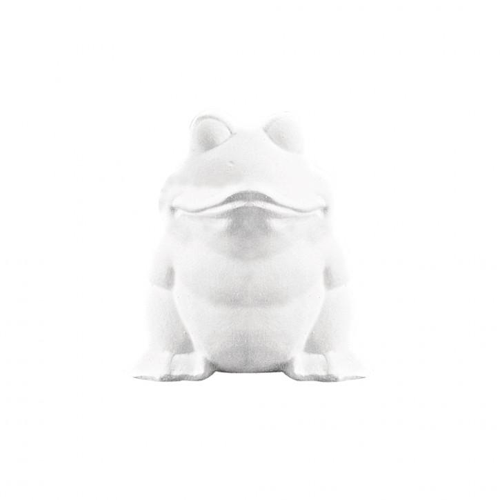 Styropor-Frosch, 13cm
