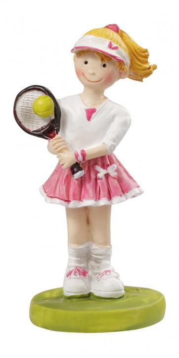 Tennis-Spielerin 8,5 cm
