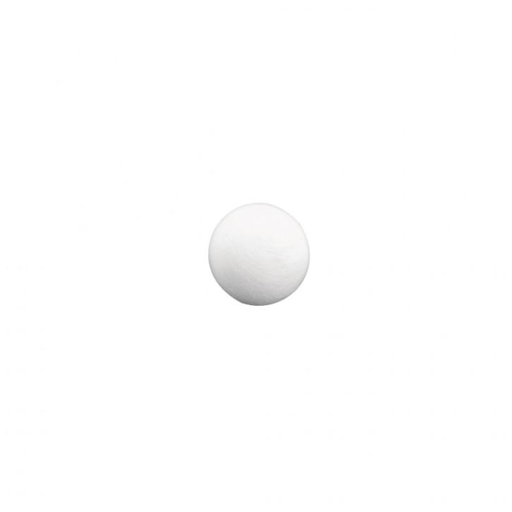 Wattekugeln 3,0 cm ø, SB-Btl. 15 Stück