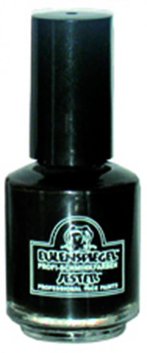 Zahnlack, schwarz, in Pinselflasche, 7ml