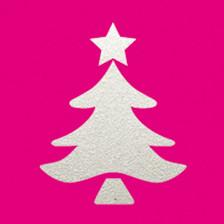 Stanzer L Weihnachtsbaum 3,6x2,7 cm